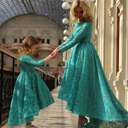 جذابیت فوق العاده پوشیدن ست مادر دختری